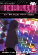 """MB """"100 ROCK & ROLL WORKOUTS FOR BASS"""" MUSIC BOOK/CD BRAND NEW ON SALE GUITAR!!"""