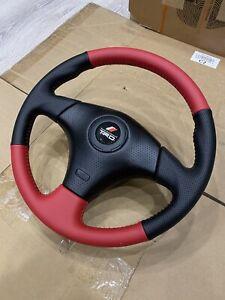 red original TRD steering wheel steering wheel for Toyota Celica,Chaser, MR-2, M