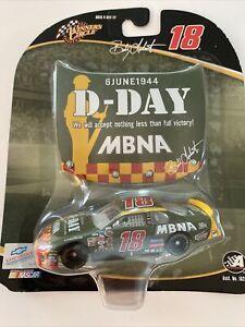 2004 #18 Bobby Labonte MBNA D-Day 1/64 Winner's Circle NASCAR Diecast