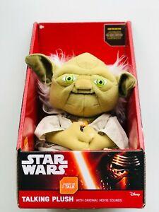 Star Wars Yoda talking Plush Toy with Original movie sounds