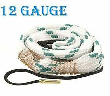 New Bore Snake 12 Gauge Shotgun Barrel Cleaner Cleaning Kit Rope 12G Boresnake