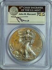 2011 S PCGS MS70 FIRST STRIKE $1 SILVER EAGLE 25TH ANNIVERSARY SET COIN
