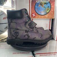 "Timberland 6"" Premium Boots Waterproof 'Iridescent Purple' - Size: Womens 8.5"