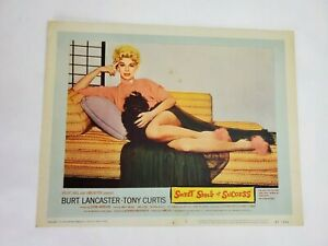 """Vintage 1957 """"Sweet Smell Of Success"""" Lobby Card"""