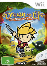 Drawn to Life The Next Chapter Nintendo Wii Game USED