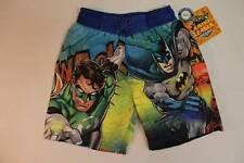 NEW Toddler Boy Bathing Suit Swim Trunks Shorts 2T Batman Superman UV 50 Justice