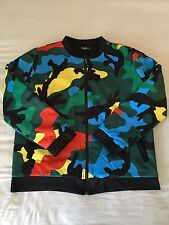 Mens Bomber Jacket 2XL Fresh Fashion Coat Casual Outwear Vintage Military Army