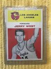 1961-62 Star Jerry West RC  #43 (Reprint)