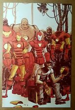 Iron Man Suits Marvel Comics Poster by Skottie Young