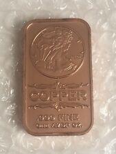 """5 Rounds /""""Second Amendment Patriotism/"""" 1 oz .999 Copper Rounds"""