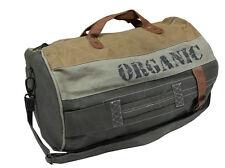Canvas Tasche Sporttasche Weekender Vintage - Organic -