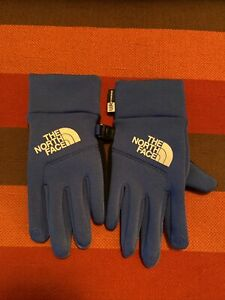 THE NORTH FACE  Unisex Youth Small Blue Gloves