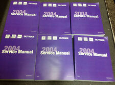 2004 CADILLAC ESCALADE SUV TRUCK Service Shop Repair Manual Set NEW OEM 04