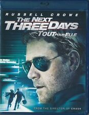 The Next Three Days (Blu-ray Disc, 2011, Canadian) Russell Crowe