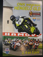 Programmaboekje ONK Wegrace Hengelo Gld 2-4-5 juni 2011