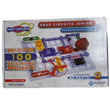 NIB Snap Circuits Junior by Elenco 30 Pieces Build Electronic Projects Set. Jy44