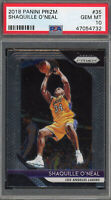 Shaquille O'Neal Los Angeles Lakers 2018 Panini Prizm Basketball Card #35 PSA 10