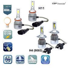 H4+H11 Combo LED Headlight High&Low Beam FOG Light Bulbs 2 Pairs 12-15 Tacoma