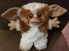 "Gremlins GIZMO 10"" Plush Toy Factory Brown White Soft"