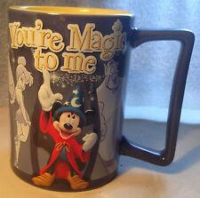 Disney Coffee Mug - You're Magic to Me - Mickey 3D Blue - Purple w/ Yellow