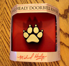 Michael Healy Dog Paw Doorbell Ringer Original Handcrafted Brass New Great Gift