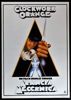 Manifesto Naranja Mecánica Stanley Kubrick Malcolm Mcdowell Patrick Magee P04