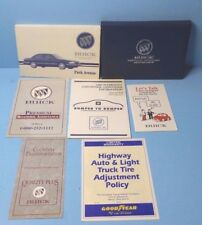 95 1995 Buick Park Avenue owners manual