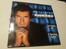 Ransom LASERDISC Mel Gibson Widescreen