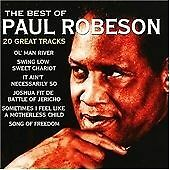 Paul Robeson : The Best of Paul Robeson CD (2003)
