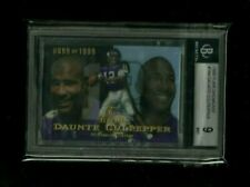 Daunte Culpepper 1999 Flair Showcase SHOWTIME REFRACTOR Rookie #/1999 BGS 9 MINT
