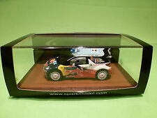 SPARK 1:43 CITROEN DS3 WINNER ACROPOLIS 2011 - ORIGINAL BOX - IN MINT CONDITION