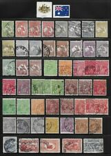 Collection of Old Stamps - AUSTRALIA . . . . . . (5 pages)