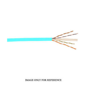 1000' Belden 4813 23 AWG 4P U/UTP CMP Blue 600MHz Enhanced Cat 6 Nonbonded Cable
