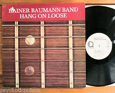 Rainer Baumann bande – Hang on loose LP Line records – 6.24948