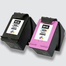 Printing Pleasure® 2 INK Cartridge For HP 301XL Deskjet 1000 1010 1050A 1510