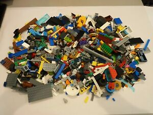 Genuine Lego Bundle Mixed 1 Kg 1000g Bricks Parts Pieces Bulk (LEGO 8)