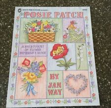 Posie Patch A Big Bouquet of Flower Patterns & More Jan Way Decorative Painting