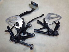 Honda CBR 600 01-06 left right rearset hanger peg powder coated 02 03 04 05