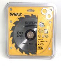 DEWALT DT1148-QZ Construction Circular Saw Blade 184mm x 30mm x 18 Tooth Series