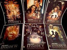 Star Wars™ EPISODES I - VII Original Screenplays (1977-2015) Rare Script Set