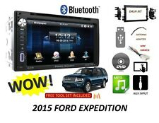 2015 Ford Expedition Bluetooth touchscreen DVD CD USB CAR RADIO STEREO