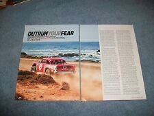 """1957 Chevy NORRA Mexican 1000 Race Highlights Article """"Outrun Your Fear"""""""