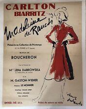 CARLTON BIARRITZ MADELEINE DE RAUCH