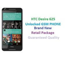 """Unlocked GSM Cricket AT&T T-Mobile HTC Desire 625 4G LTE Android 5"""" 8GB (White)"""