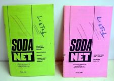 Painted Label Soda Net; 1994 (2) issues; ACL soda collectors Official Newsletter