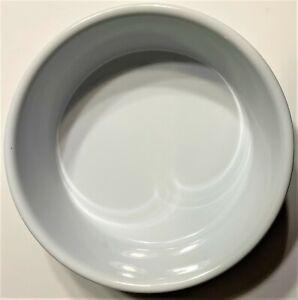Boots & Barkley Stoneware White Set of 2 Pet Feeding Bowls Dogs Cats Food Dish