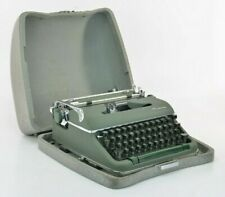 """1960's Olympia SM-9 """"S"""" Typewriter W/ Case - Great Condition"""