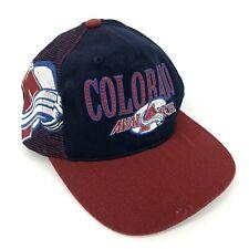 Colorado Avalanche Sports Specialties Shadow NHL Vintage 90s Snapback Cap Hat