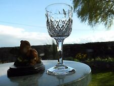"""THOMAS WEBB Crystal  NORMANDY  4 11/16"""" SHERRY  glass OR glasses ( 1st )"""