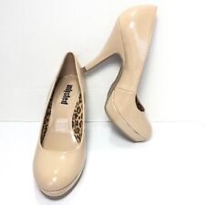 Women's Unlisted Kenneth Cole Nude High Heel Pumps Size 6.5 M New